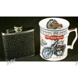 Kubek Motocykl+piersiówka BSA 450ml.