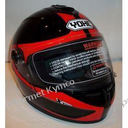 Kask marki YOHE N97 X-wind. Części motocyklowe