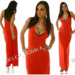 Scarlett 01 - długa suknia wieczorowa
