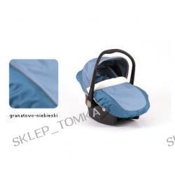 Fotelik Boboiway Implast granatowo niebieski