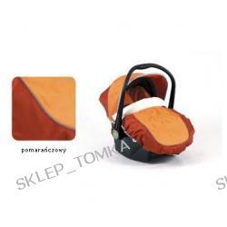 Fotelik Boboiway Implast pomarańczowy