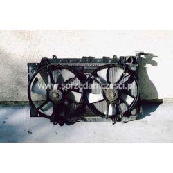 Chłodnica wody i wentylatory Nissan Almera N15 1997-1999...