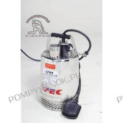 FSS 250 - AFEC pompa odwodnieniowa ze stali kwasoodpornej Hmax - 8m, wydajność do 200 l/min Pompy i hydrofory
