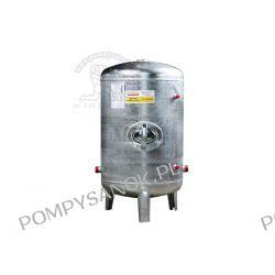 Zbiornik hydroforowy ocynkowany 100L pionowy bez lub z wyposażeniem Pompy i hydrofory