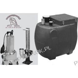 Przepompownia ścieków VS 200S-P 460M 230V lub T 400V Pompy i hydrofory