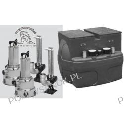 Przepompownia ścieków VS 500 TWIN-P 300M 230V LUB T 400V Pompy i hydrofory