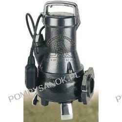 Draincor 180 MA z pływakiem -  pompa monoblokowa z nożem tnącym do ścieków i gnojowicy  Pompy i hydrofory