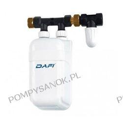 Elektryczny przepływowy podgrzewacz Dafi IPX4 ; 5,5kW(230V); 7,5kW(400V); 9kW(400V) Pompy i hydrofory