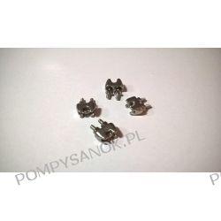 Zacisk kabłąkowy linki ze stali nierdzewnej kwasoodpornej AISI 316 Pompy i hydrofory