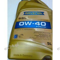 olej silnikowy RAVENOL SSL SAE 0W-40 5l API SN/CF, ACEA A3/B4