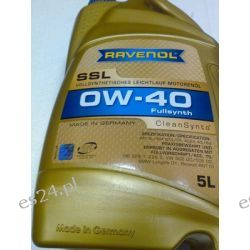 olej silnikowy RAVENOL SSL SAE 0W-40 5l MB 229.5, Renault RN0700, Renault RN0710, Porsche A40
