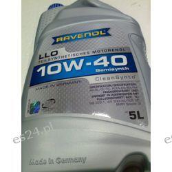 olej silnikowy RAVENOL LLO 10W-40 5l API SL/CF/EC, ACEA A3/B3/B4  Chemia