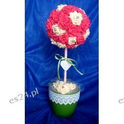 Duża różana kulaII