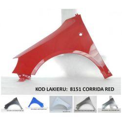 Błotnik lewy/prawy Skoda Fabia II 07-10 Twój kolor