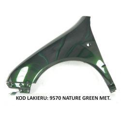 Błotnik lewy Skoda Fabia 98-08 9570 Nature Green