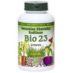 Bio 23 Greens 90kaps - Naturalne Ekstrakty Roślinne...