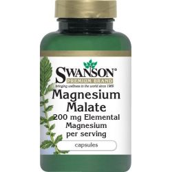 Jabłczan (malat) magnezu 200mg 60kaps ...