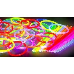 ŚWIECĄCE BRANSOLETKI- 50 szt światło chemiczne