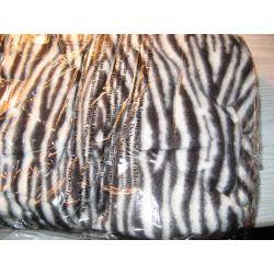 KOCYK - SZLAFROK 2 in 1super koc z rękawami zebra Bielizna damska