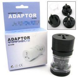 Adapter podróżny przejście AC USA EUROPA UK AZJA RTV i AGD