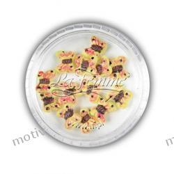 Ozdoby ceramiczne 3D - MOTYLEK 2 - kolor 08