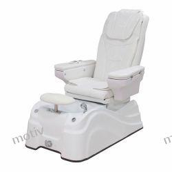 Fotel SPA Pedicure biały AIRdx3helen z ciśnieniowym masażem ciała i hydromasażem stóp Pozostałe