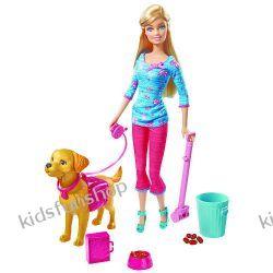 Barbie z pieskiem i akcesoriami
