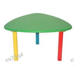Drewniany stolik dziecięcy, mały