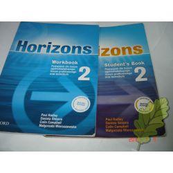 Horizons 2 Podręcznik + ćwiczenia OXFORD