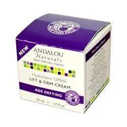 Andalou Naturals, Hyaluronic DMAE Lift & Firm Cream, Age Defying, 1.7 fl oz (50 ml)