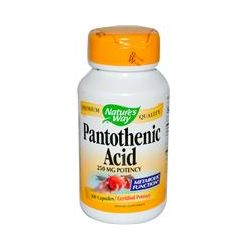 Nature's Way, Pantothenic Acid, 100 Capsules