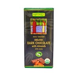 Rapunzel, Organic Dark Chocolate with Almonds, 3 oz (85 g)