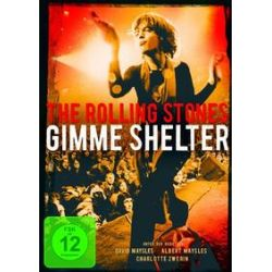Film: The Rolling Stones - Gimme Shelter  von The Rolling Stones, David Maysles, Charlotte Zwerin von Albert Maysles, Charlotte Zwerin mit Albert Maysles, Charlotte Zwerin