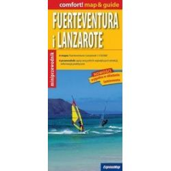 Fuerteventura i Lanzarote - miniprzewodnik 1:150 000