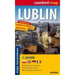 Lublin - kieszonkowy laminowany plan miasta w skali 1: 20 000