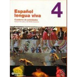 Język hiszpański. Espanol lengua viva 4 ćwiczenia + CD audio i CD ROM, szkoła średnia