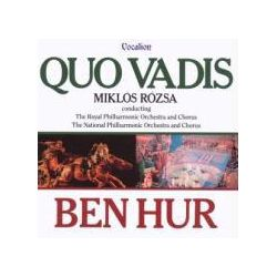 Musik: Quo Vadis/Ben Hur  von Miklos Rozsa, Royal Philh.Orch., Nat.Phil.Orch.