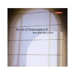 Musik: Die Kunst Der Transkription,Vol.2  von Risto-Marin Marin