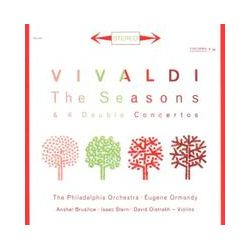 Musik: The Four Seasons op.8/Double Concertos  von David Oistrach, Isaac Stern