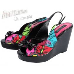 buty na koturnie IRON FIST (Hellwaii Wedge) (Multi)  '09 [OIRON-019]
