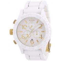 Nixon Unisex-Armbanduhr The 4220 Chrono Chronograph Quarz Edelstahl A0371035-00
