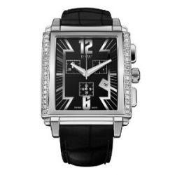 RSW Herren-Armbanduhr XL Hampstead Analog Leder 4220.BS.A1.1.D1