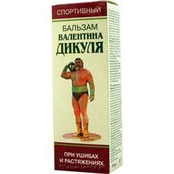 Balsam dla sportowców Walentina Dikula
