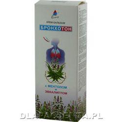 Krem - Balsam rozgrzewający z mentolem.