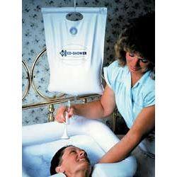 Przenośny prysznic do spłukiwania włosów