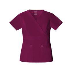 Cherokee Bluza medyczna damska Mock Wrap