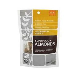 Navitas Naturals, Superfoods + Almonds, Goldenberry Ginger, 4 oz (113 g)
