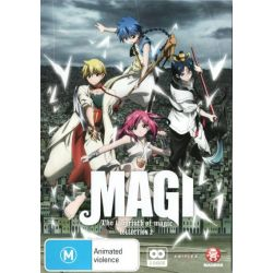 Magi on DVD.