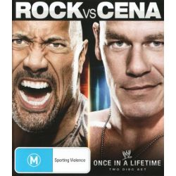 The Rock vs John Cena on DVD.