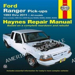 Ford Ranger Automotive Repair Manual, 1993-11 by Haynes Publishing, 9781620920497.